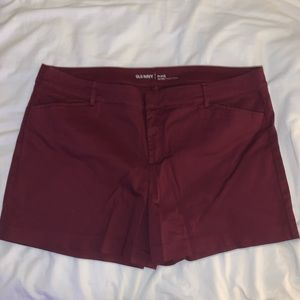Old Navy Mid Rise Pixie Shorts